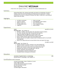 hair stylist resume sample writing guide writing resume sample hair stylist resume cover letter by dwayne weisman