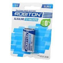 Батарейки <b>robiton</b>, тип: 6LR6 (6LR61/ 1604) 9V <b>крона</b> — купить в ...
