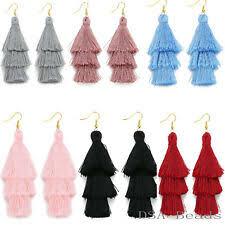 <b>Crystal Tassel Bohemian</b> Fashion Earrings for sale | eBay