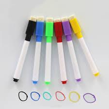 <b>6Pcs</b>/Set <b>Brand New</b> Magnetic Whiteboard Pen Erasable Dry White ...