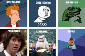 Steps of Scientific Method - Meme version | Meme Overload | Know ... via Relatably.com