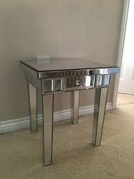mirrored glass drawer bedside lamp table contemporary venetian mirrored glass silver  drawer end lamp table bed
