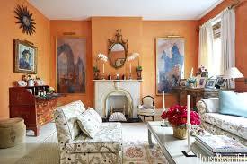 rooms paint color colors room: bright orange gallery  orange living room