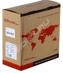 <b>Сетевой кабель Telecom</b> Ultra cat 5.e (TUS44148E) (100м ...