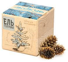 <b>Набор для выращивания</b> Эйфорд <b>Экокуб</b> Голубая ель ECB-01-01 ...