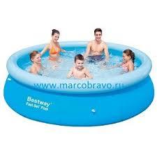<b>Надувной бассейн Bestway</b> Fast Set, 57109 | MarcoBravo
