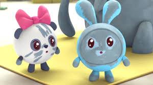 Малышарики - <b>Слон</b> (Новая серия 109) Развивающие мультики ...