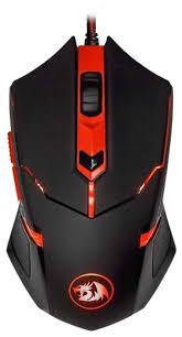 <b>Мышь Redragon Centrophorus</b> Black-Red USB — купить по ...