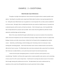 examples of reflections reflection paper