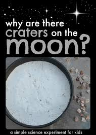 simple science experiment for kids why are there craters on the a great science experiment for kids that are interested in space science fair ideas outer space activities