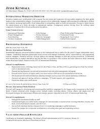 Jk International Marketing Director Marketing Director Resume ... jk international marketing director : marketing director resume