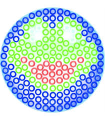 hama термомозаика maxi круг