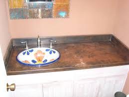countertops copper zinc stainless steel