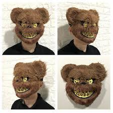 <b>Halloween Mask</b> Cosplay <b>Bloody Killer</b> Rabbit Mask Teddy Bear ...