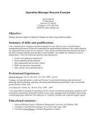 construction operations manager resume template cipanewsletter resume sample operations manager resume