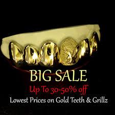 <b>Custom Gold</b> Grillz - <b>Buy Gold</b> Teeth Online
