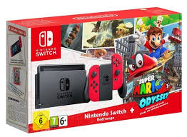 <b>Игровая приставка Nintendo</b> Switch 32 ГБ — купить по выгодной ...