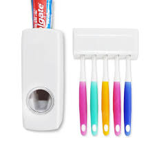 Auto Toothpaste Dispenser White Toothbrush & Accessories Sale ...