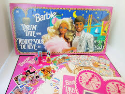 Barbie Dream Date Board Game      features Barbie by Collectique Etsy