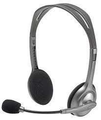 Buy Logitech H110 Stereo Headset, Black & Grey Online ... - Amazon.in