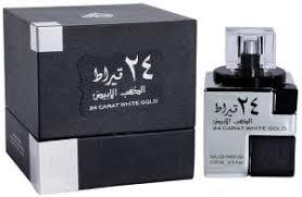 <b>24 Carat White</b> Gold by <b>Lattafa</b> for Men & Women - Eau de Parfum ...