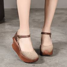 <b>Artdiya</b> leather women shoes handmade New knitted literary fashion ...