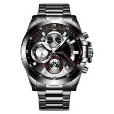 <b>Men Watch</b> Black +Steel band Stainless Steel <b>Watches</b> Sale, Price ...