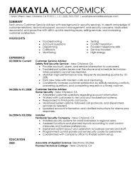 resume high school career advisor service examples law enforcement security career advisor resume