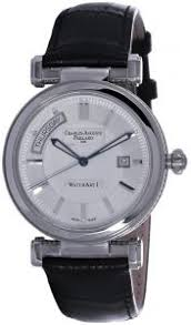 <b>Charles Auguste Paillard</b> White Dial Leather Watch [300.400.11 ...