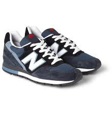 New Balance <b>996 Suede</b> and Mesh Sneakers | MR PORTER ...