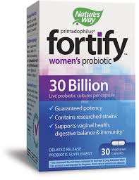 <b>Fortify</b>™ <b>Women's</b> 30 Billion <b>Probiotic</b> - Nature's Way®.