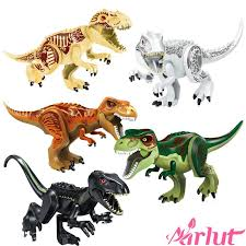 <b>Jurassic</b> Dinosaur DIY <b>Assembly Building Blocks</b> Children's ...