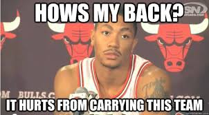 Derrick Rose memes | quickmeme via Relatably.com