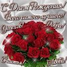 Цветы открытки поздравления с днем рождения