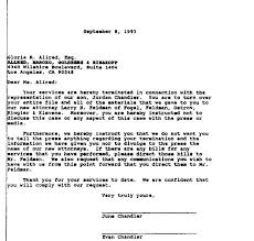 2011 fan blog for mj gloria allred s termination letter