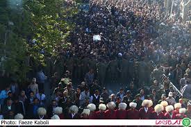 Image result for تشییع پیکر شهید مدافع حرم «یدالله ترمیمی» در گرگان