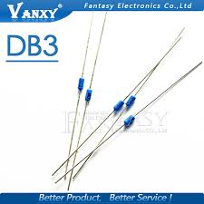 <b>50PCS DB3 DB 3</b> Diac Trigger Diodes <b>DO 35</b> DO 204AH-in Diodes ...