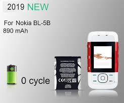 2019 PINZHENG <b>100</b>% <b>Original</b> BL 5B Phone Battery For Nokia BL ...