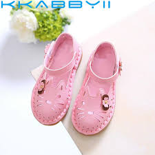 <b>2019 New Fashion</b> Children Summer Sandals <b>Cute</b> Cartoon Hollow ...