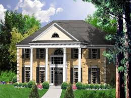 Story House Story Colonial House Plans  house plans colonial