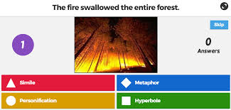 kahoot of the day figuring out figurative language kahoot figurative language kahoot tricky example