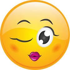 Image result for funny wink emoji