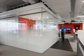 cool glass interior office design to refresh your office atmosphere awesome cube meeting room gradation awesome office conference room