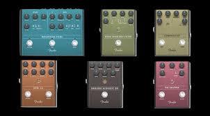 Шесть новых <b>педалей Fender</b>, среди которых первый ...