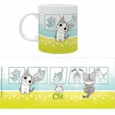 <b>Chi's Sweet</b> Home NEW * Chi Pawprints oz Mug * Cat Kitten <b>Anime</b> ...