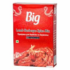 <b>Смесь специй Big</b> Chef Для барбекю из баранины 100г Индия в
