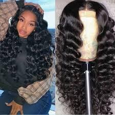 <b>Fashion</b> Ladies Partial Long Hair Wigs <b>Wave Curls</b> Wigs - Prix pas ...