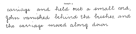 e l thorndike handwriting the measurement of the quality of sample 9 handwriting