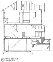 House BlueprintsKing County example elevation cross section