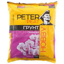<b>Грунт питательный Peter</b> Peat Hobby для орхидей Х-12-5, 5 л в ...